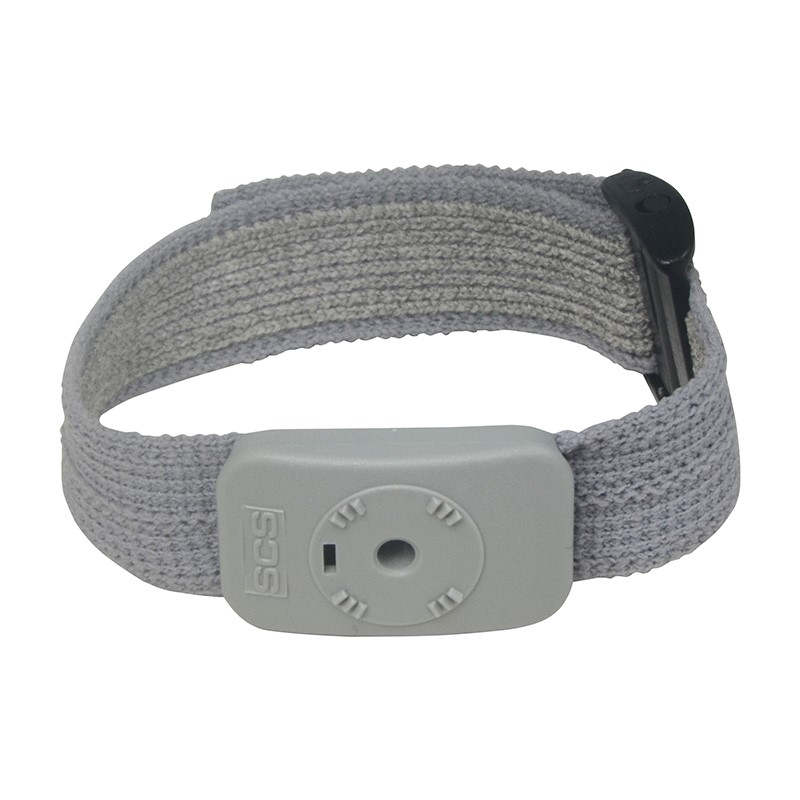 WRIST BAND, DUAL CONDUCTOR, ADJUSTABLE FABRIC, FOR 790/791