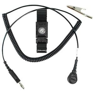 04548-リストストラップ、TRUSTATエルゴ、黒、コード長さ 1.8 m、4 mm
