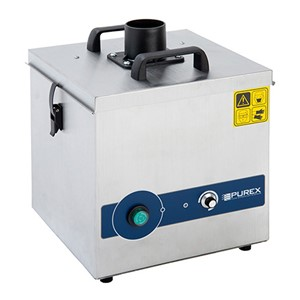 072155-230-1EB-PUREX FUMECUBE ANALOG MACHINE, SINGLE PORT, WITH ARM & VACUUM CONTROL, 230VAC