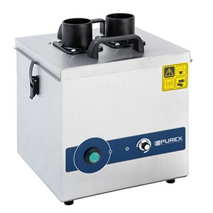 072160-PUREX FUMECUBE ANALOG MACHINE, DUAL PORT, NO ARMS WITH VACUUM CONTROL, 120VAC