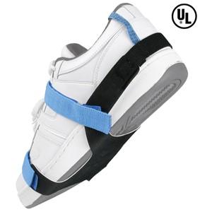 07503-静電気対策フットグラウンダー(片足分)、靴底全体、2MEG抵抗付き、Lサイズ