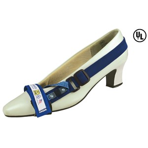 07595-FOOT GROUNDER, TOE, LINED, 2 MEG, 30'' LIGHT BLUE TAB