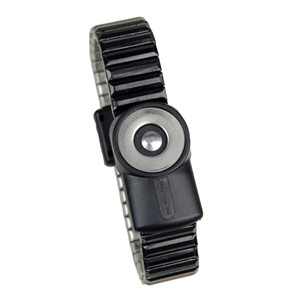 2226-WRISTBAND, DUAL-WIRE, MAGSNAP 360, METAL, MEDIUM