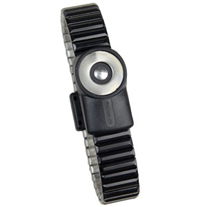 2227-WRISTBAND, DUAL-WIRE, MAGSNAP 360, METAL, LARGE