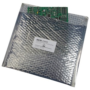 STATIC SHIELD BAG 2300R SERIES CUSHIONED, 8x7, 100 EA