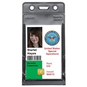 Menda Id 35008 Shielded Badge Holder 2 14 Inch X 3 12 Inch
