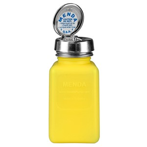 35267-PURE-TOUCH, YELLOW, DURASTATIC SQUARE, HDPE, 180 ML
