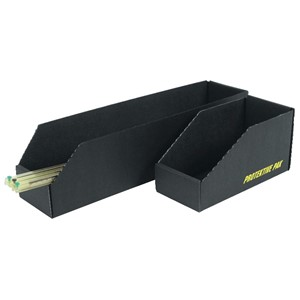OPEN BIN BOX 12 x 6 x 4-1/2 IN