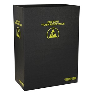TRASH RECEPTACLE, BOX ONLY 22-7/8 x 12-7/8 x 32 IN