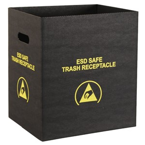 37814-TRASH RECEPTACLE, ECONOMY, SMALL, 12-1/2'' x 10'' x 14''