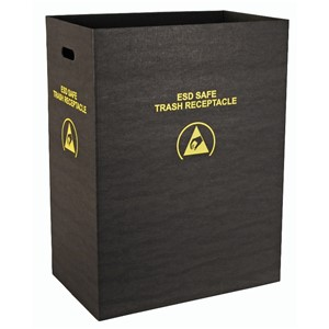 37815-TRASH RECEPTACLE, ECONOMY, LARGE, 21'' x 12-3/4'' x 28''