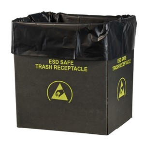 LINER, TRASH CAN, STATIC DISS. 2.0 MIL, 26 x 24 , 50 PER PACK