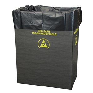 LINER, TRASH CAN, STATIC DISS. 2.0 MIL, 22x16x58, 50 PER PACK