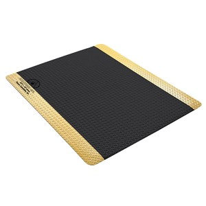 40979-MAT, STATFREE DPL PLUS  COND BLACK VINYL, 0.45INx24INx36IN