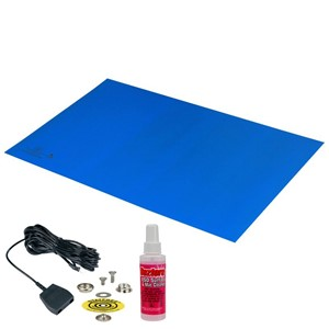 42551-MAT, STATFREE Z2, 3-LAYER VINYL, BLUE, 0.125''x30''x60''