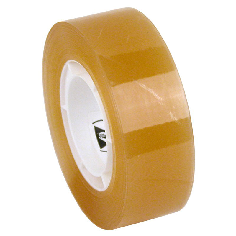 WESCORP ESD TAPE, CLEAR 36 YDS, 3/4 IN, 1 IN CORE