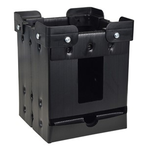 REEL STORAGE, VERTICAL, W/ STACKING CORNERS, 7''