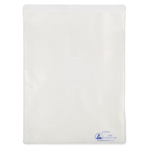 DOCUMENT HOLDER, ESD, STATIC DISS, 6-3/8IN x 8-5/8IN, 25 PK