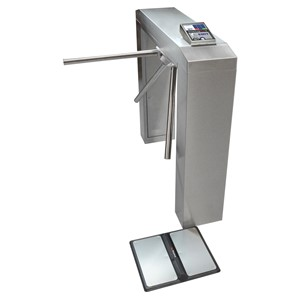 50173-SMARTLOG PRO SE WITH MOTORIZED TURNSTILE, 100-120VAC