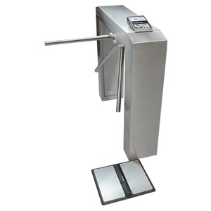 50721-SMARTLOG PRO WITH MOTORIZED TURNSTILE, 100-120VAC