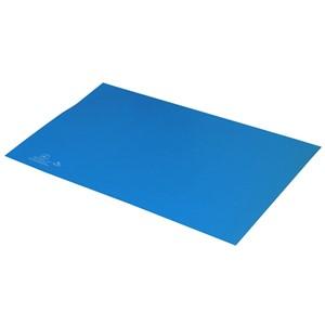 66444-MAT, STATFREE T2 PLUS RUBBER, DISSIPATIVE, BLUE, 0.060'' x 24'' x 36''