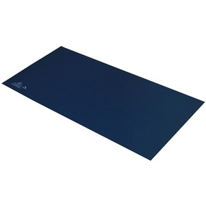 66445-MAT, STATFREE T2 PLUS RUBBER, DISSIPATIVE, DARK BLUE, 0.060'' x 24'' x 36''