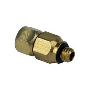 680001-FITTING, SWIVEL, 10-32, BUNA-N, BRASS,  FOR SCORPION & APR-5000-XL(S)
