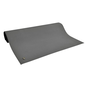 "6810-MAT, 2-LAYER RUBBER, 6800 SERIES, GRAY, 0.072""x24""x48"""