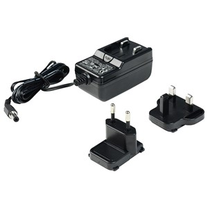 ADAPTER, 100-240VAC IN, 24VDC  0.25A OUT, UK & EURO PLUGS