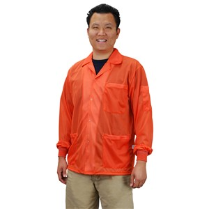 73914-SMOCK, STATSHIELD, JACKET, KNITTED CUFFS, ORANGE, XLARGE