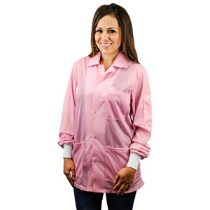 74200-SMOCK, STATSHIELD, JACKET, KNITTED CUFFS, PINK, XSMALL