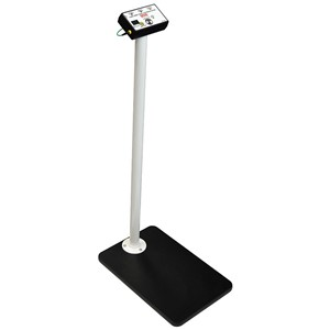 TESTER, COMBO WRIST STRAP & FOOT GROUND, W/STAND