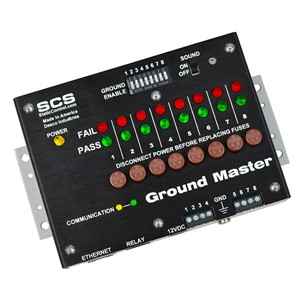 GROUND MASTER MONITOR, ETHERNET OUTPUT