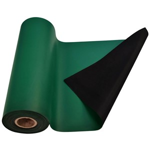 770081-MAT ROLL, RUBBER, R3, GREEN, 24'' x 50'