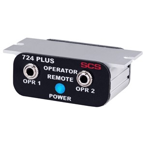 770732-OPERATOR REMOTE, DUAL, FOR 724 PLUS WORKSTATION MONITOR