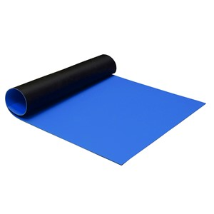 MAT ROLL, 2-LAYER RUBBER, R7 SERIES, ROYAL BLUE, 0.060''x30''x40'