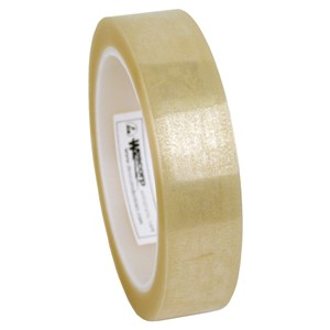 79205-TAPE, WESCORP, CLEAR, ESD, 24MM x 65.8M x 76.2MM CORE