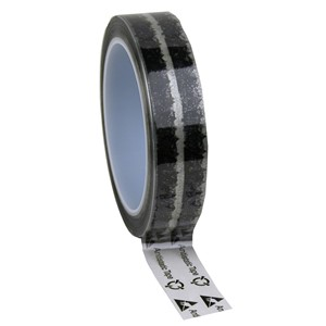 79211-TAPE,WESCORP,CLEAR,ESD 24 MM x 65.8 M x 76.2MM CORE