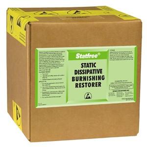 81061-静電気拡散性復活床磨き剤、スタットフリー、9.46リットル箱入り