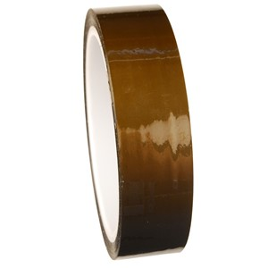 47029-WESCORP ESD TAPE, POLYIMIDE, HI TEMP, 1 IN x 36 YDS