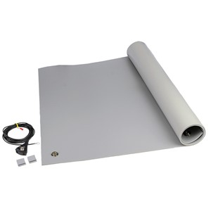 "MAT KIT, 3-LAYER VINYL, 8200 SERIES, GRAY, 0.140""x24""x48"""