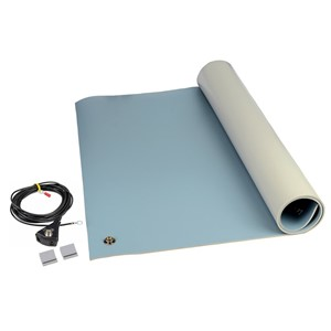 "8214-MAT KIT, 3-LAYER VINYL, 8200 SERIES, BLUE, 0.140""x24""x48"""