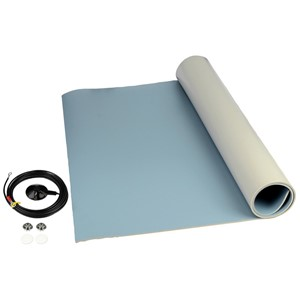"MAT ROLL, 3-LAYER VINYL, 8200 SERIES, BLUE, 0.140""x24""x24'"