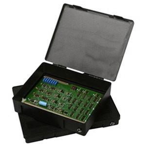 8523-NF-電子部品搬送用プラスチックボックス、10'' X 8'' X 2''、スポンジなし