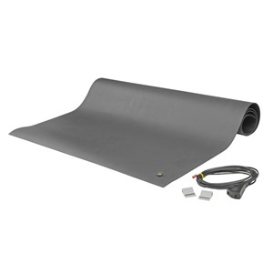 "8901-MAT KIT, 2-LAYER RUBBER, 8900 SERIES, GRAY,  0.065""x24""x48"""