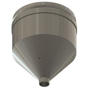 NZA-050-ROUND-REFLOW NOZZLE, ROUND, 5.0MM I.D.