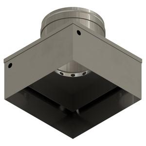 NZA-555-555-CGA-REFLOW NOZZLE, CGA, 55.5MM X 55.5MM