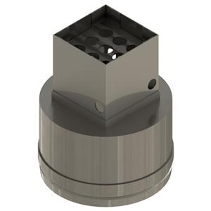 NZP-200-200-PRE-HEATER NOZZLE, 20.0MM x 20.0MM