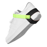 FOOT GROUND, HEEL, NOSTAT, LIME GREEN, 1MEG, UL LISTED