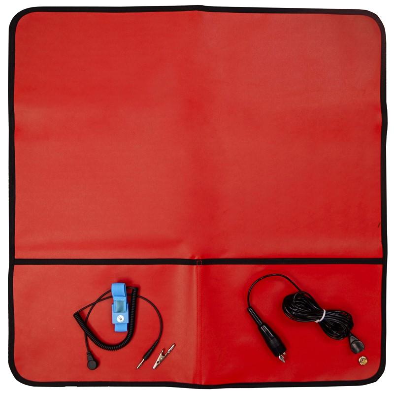 04599-TRUSTAT FIELD SERVICE KIT, RED, 2 POCKET, 24''x24''